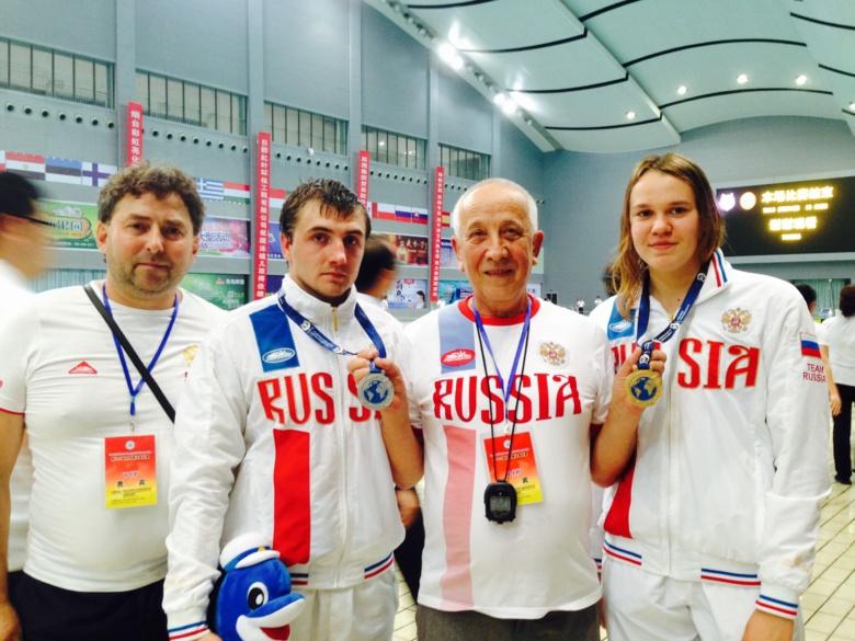 Томские пловцы завоевали бронзу на чемпионате мира в Китае
