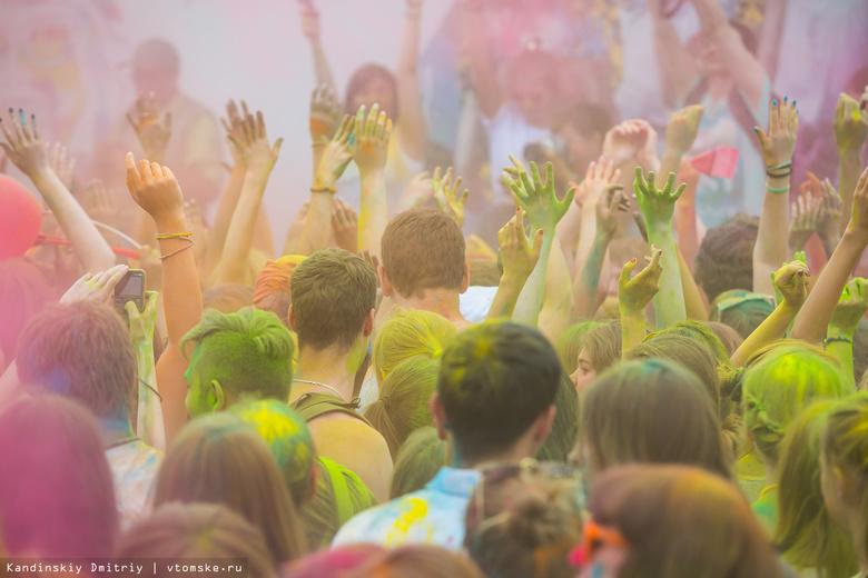 В Лагерном саду пройдут «красочный» забег и фестиваль аэробики