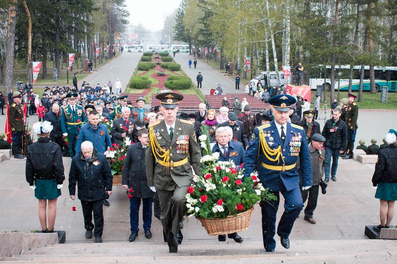 В Томске в День Победы усилят меры безопасности