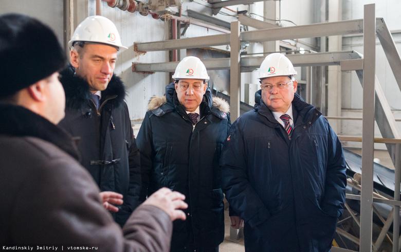 Сегодня вТомске открылся завод попроизводству ДСП