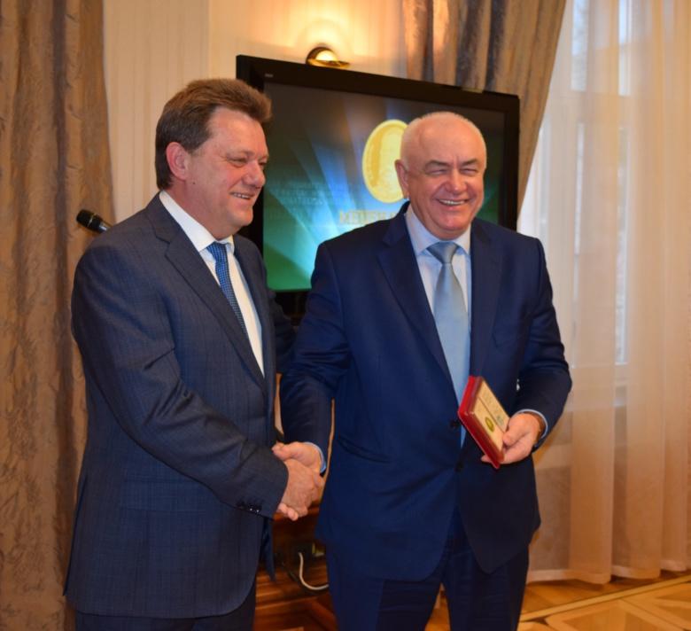 Глава «Горсетей» Владимир Резников признан «Меценатом года» первой степени