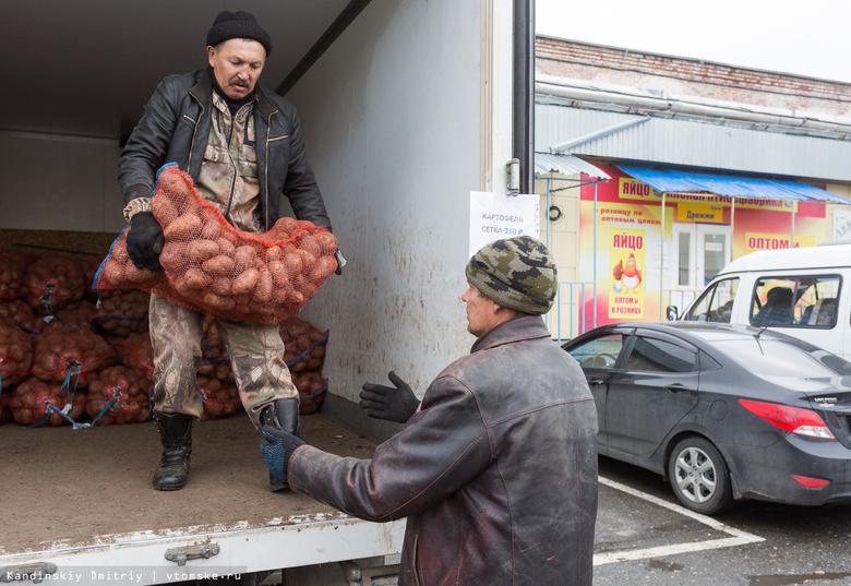 Втечении следующего года урожай картофеля вТомской области вырос на15%