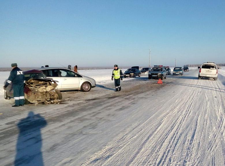 В ДТП на трассе в Томской области пострадала годовалая девочка