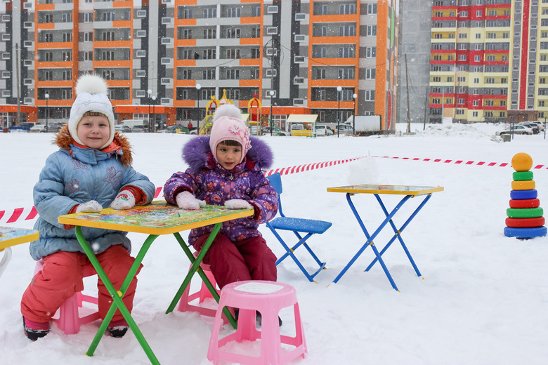 Жители Южных ворот в Томске «открыли» сад-школу у себя в районе