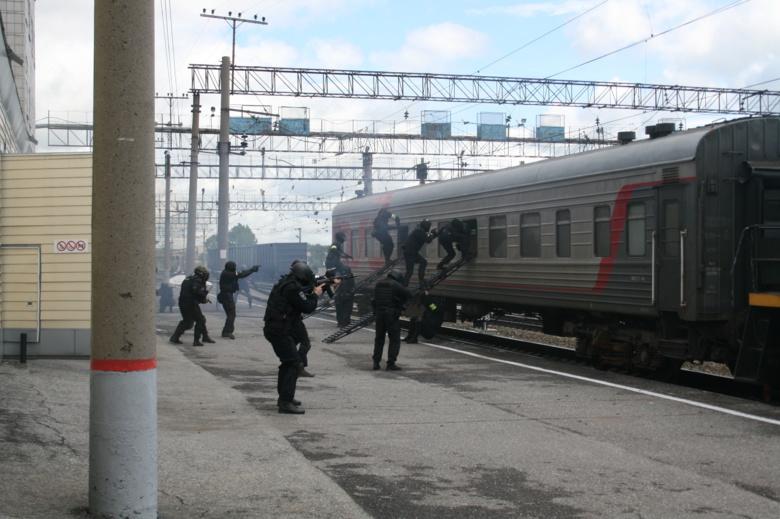 В Томской области снова прошли большие антитеррористические учения ФСБ