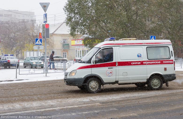 «Скорая», перевозившая пациента, попала в аварию