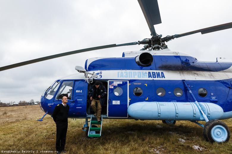 ВТомской области аварийную посадку совершил вертолет «Газпромавиа»
