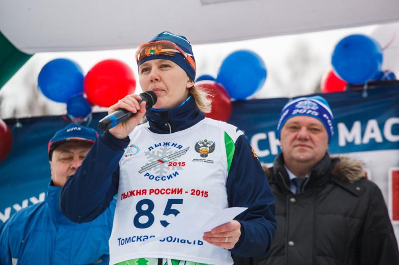 в «Лыжне России» (фото)