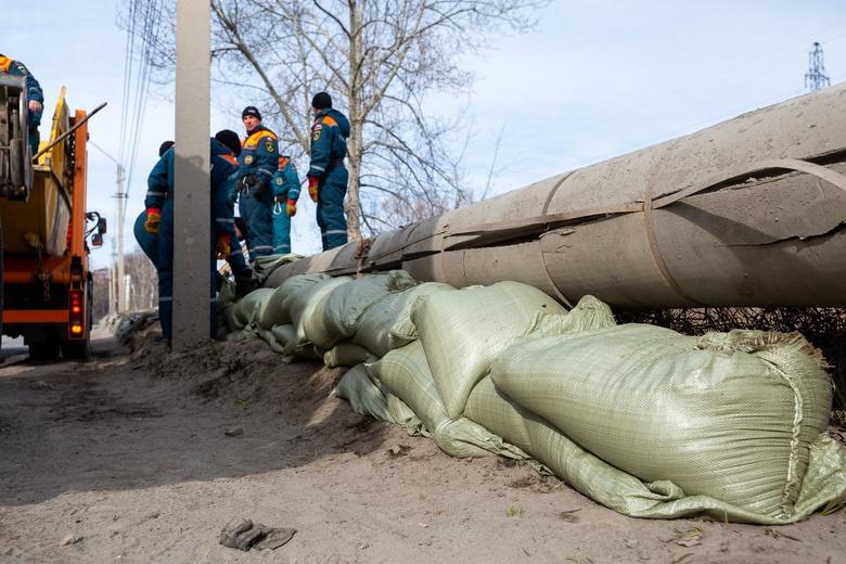 Спасти от воды: 28 жилых домов на Степановке «пострадали» от подтопления