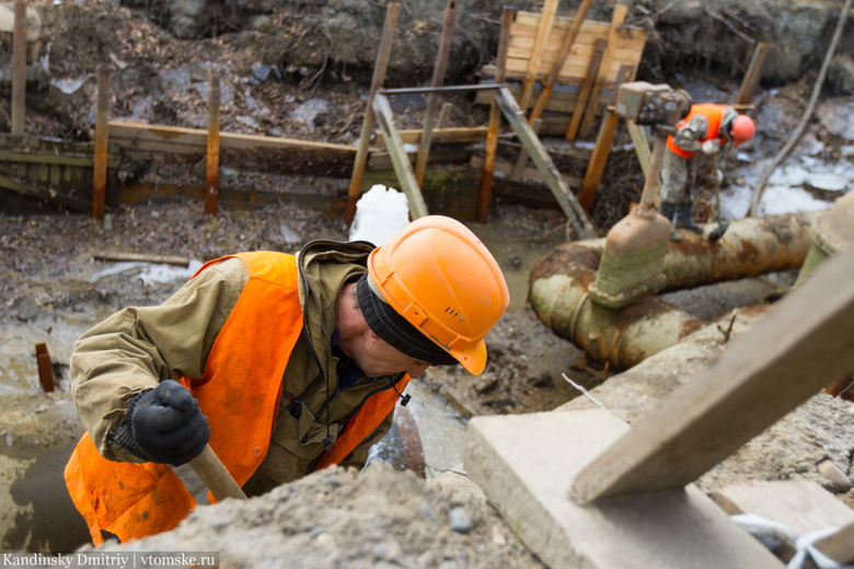 Энергетики отремонтировали 70 % теплосетей Томска