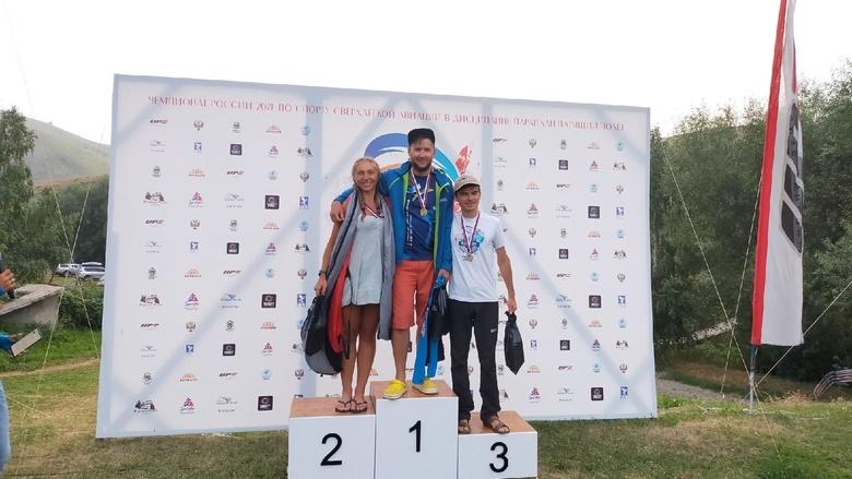 Томский парапланерист завоевал бронзу на чемпионате России