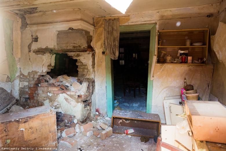 Жили и боялись: томичка рассказала, как обрушился аварийный дом на Свердлова