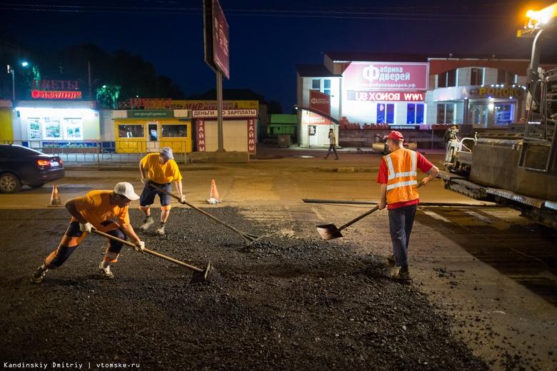 Мэрия рассказала, где в Томске отремонтируют дороги в ближайшие 3 года