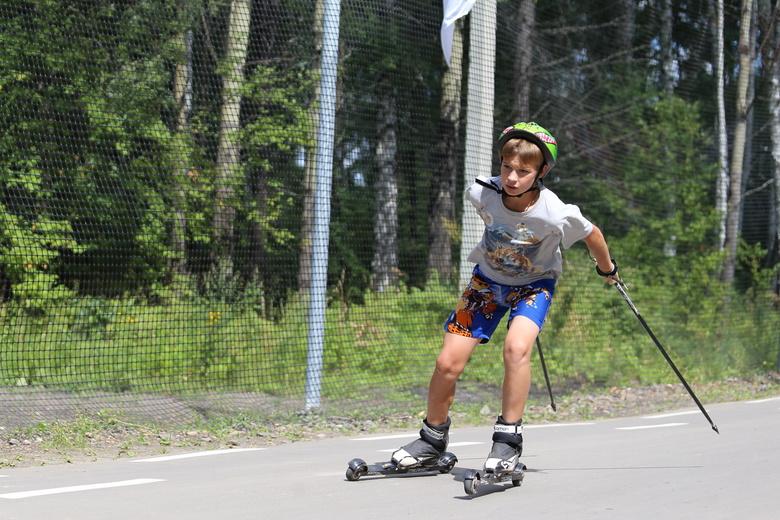 Лыжероллерная трасса длиной 3,2 км открылась в томском Академгородке