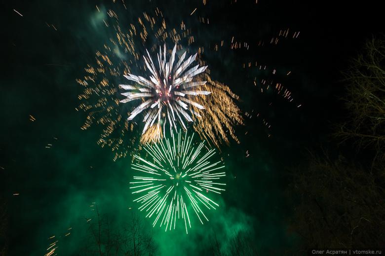 Новогодние гуляния прошли без происшествий (фото, видео)