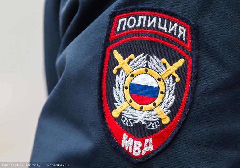 Томские сотрудники ДПС задержали пьяного водителя без прав, пытавшегося сбежать в лес