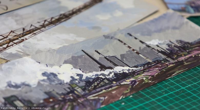 Скульптура и станковая живопись ждут томичей на молодежной выставке «Регион-70»