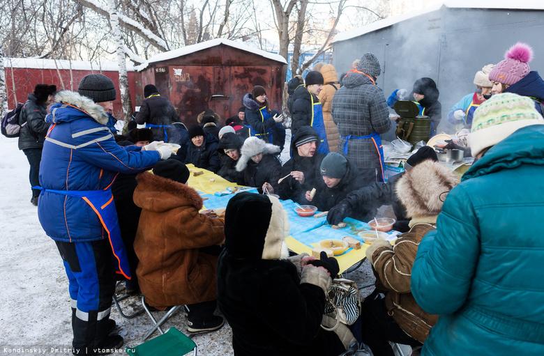 Бывшие бездомные организовали строительную бригаду для помощи томичам