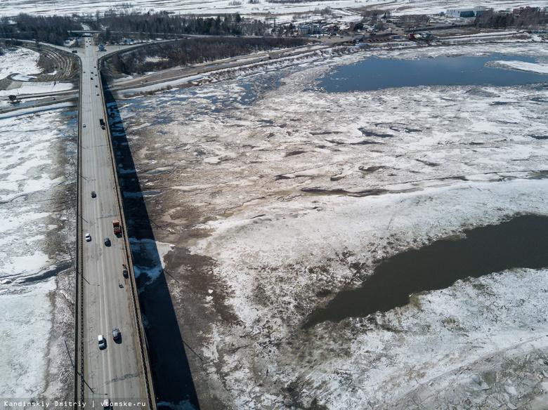 Спецкомплекс будет отслеживать уровень воды в томских реках во время ледохода