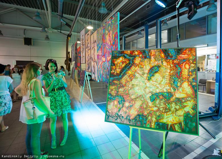 Томичи увидят картины и сделают букеты из бумаги на выставке «Не тот Арбат»