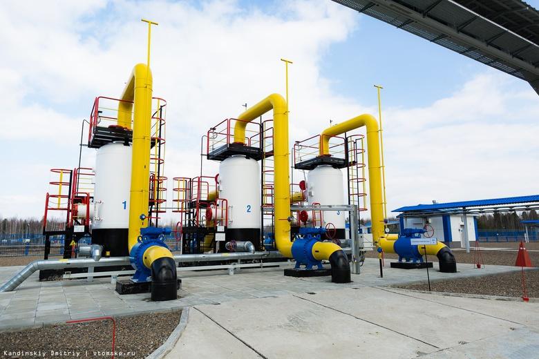 Добыча газа за год увеличилась в Томской области на 1,5 млрд кубометров