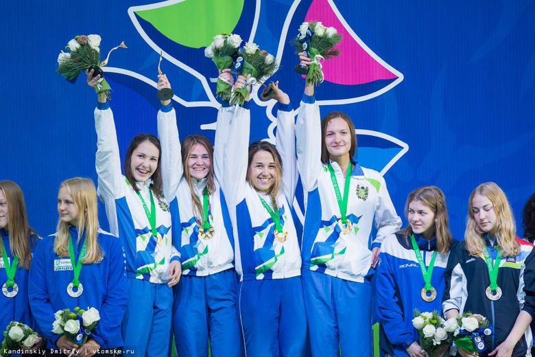 Томские подводники взяли 2 золота и 2 серебра в эстафетах финала Кубка мира