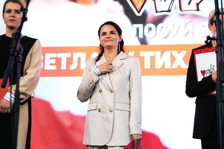 Тихановская: протесты в Белоруссии не прекратятся