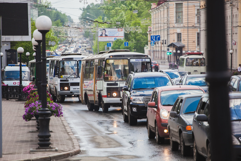Новая транспортная схема начнет действовать в Томске с 1 декабря