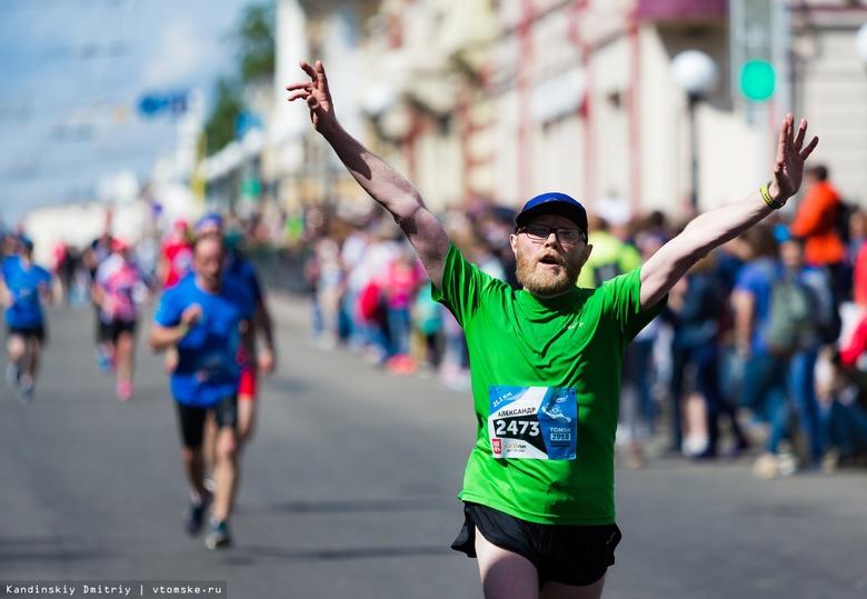 Спортсмены пробегут трассу томского марафона в обратном направлении