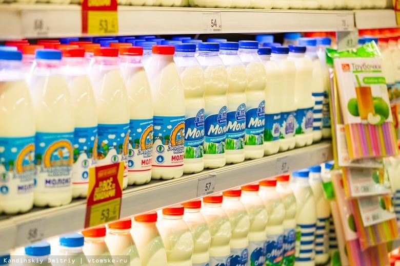 Девять томских магазинов оштрафовали за неправильную выкладку «молочки»