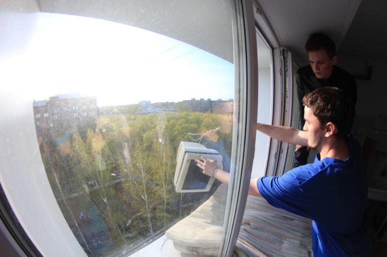 Комп в окно картинки