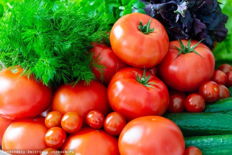 Огурцы и помидоры подорожали в Томске в сентябре