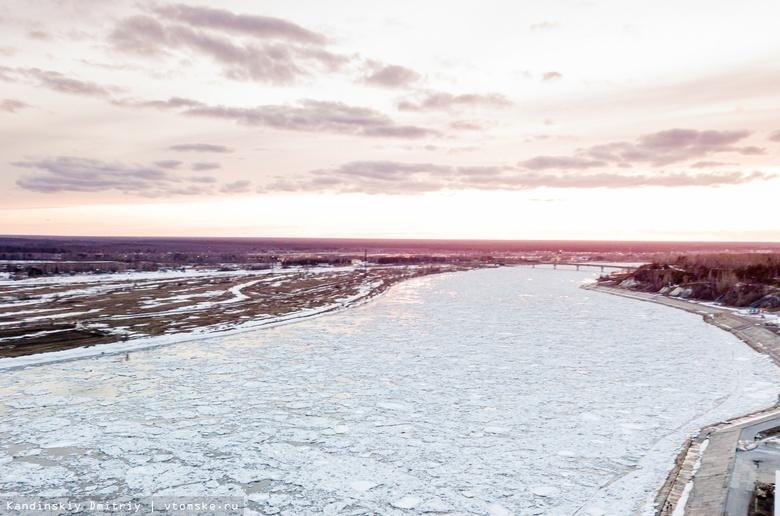 На закате дня: самый романтичный ледоход в Томске