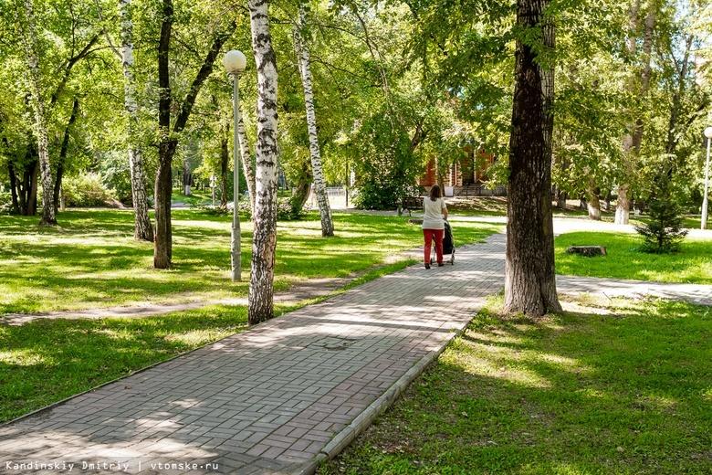 Жители Томской области определились с объектами благоустройства в 2022г