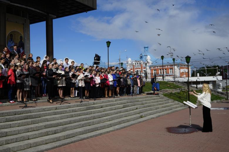 В Томске хор из 1 тыс человек исполнит песни из мультфильмов