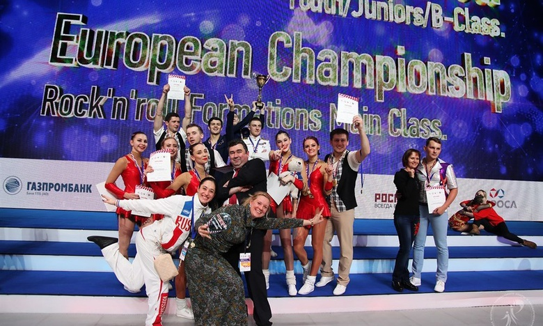 Томич впервые стал лучшим на чемпионате Европы по акробатическому рок-н-роллу