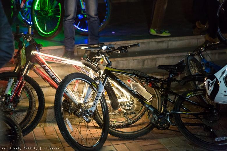 Полиция задержала серийного велосипедного вора в Томске