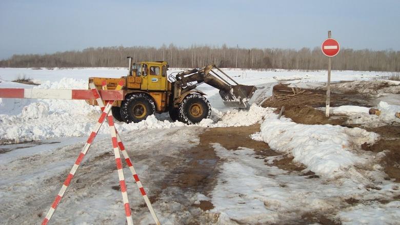 В Томской области закрыли еще 6 ледовых переправ