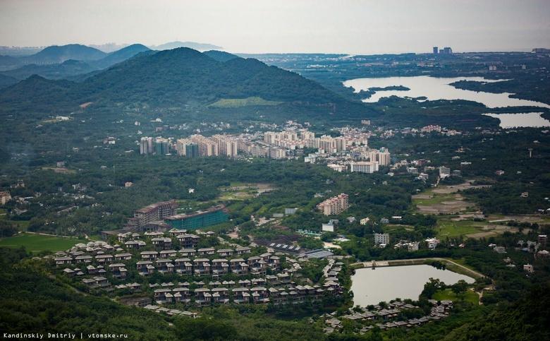 Город Санья на острове Хайнань