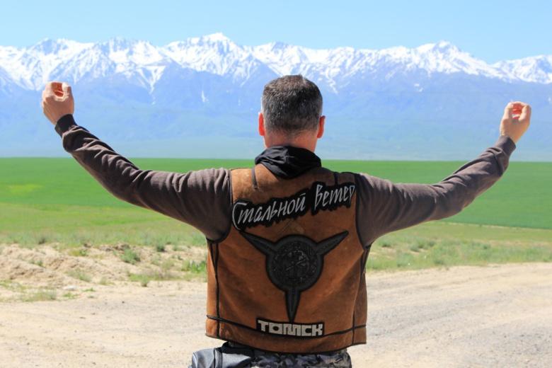 Кто есть кто: мотоциклист в Томске