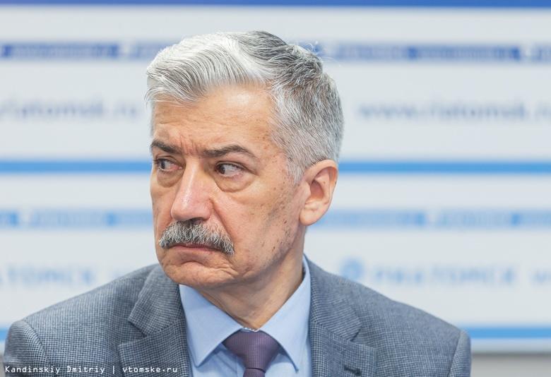 Уполномоченный по защите прав предпринимателей Томской области Валерий Падерин
