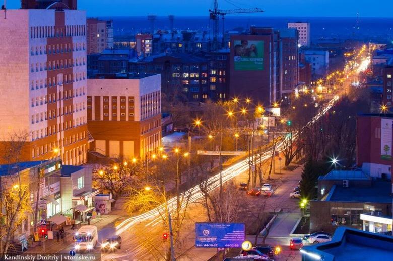 Светофоры на перекрестке в центре Томска отключили до вечера из-за работ «Горсетей»