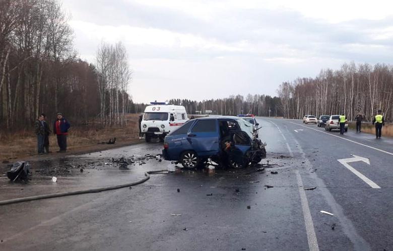 Двое мужчин и женщина погибли в ДТП в Асиновском районе