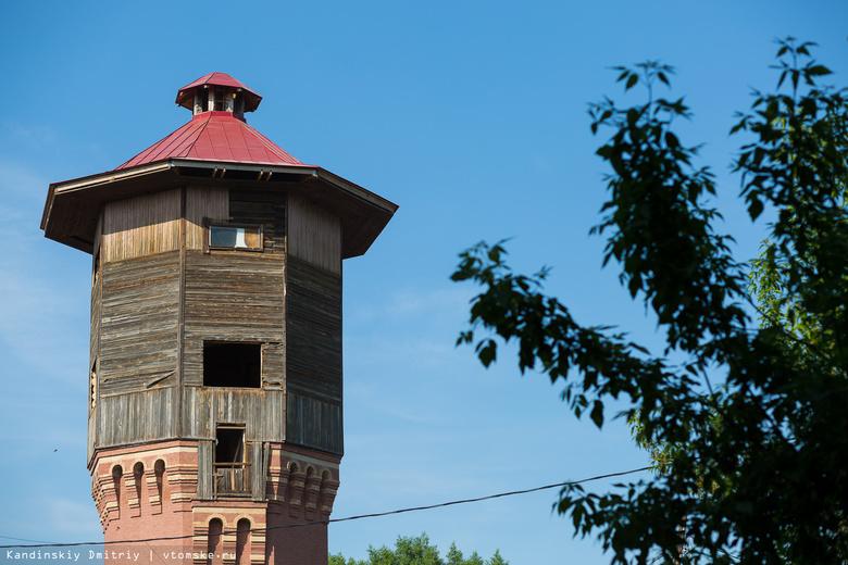 Специалисты проверят, допустил ли владелец старинной башни в Томске нарушения при ремонте