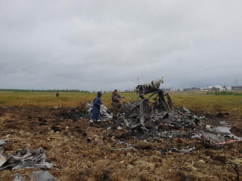 Вахтовик из Томской области погиб при крушении Ми-8 в Красноярском крае