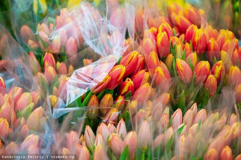 Томичкам 8 Марта будут дарить цветы на Новособорной