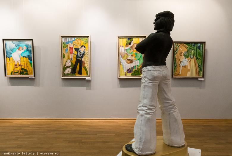 Памятники в картинах: скульптор Олег Кислицкий показал томичам свою живопись