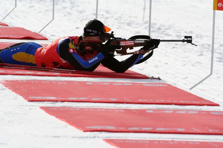 Томская биатлонистка в составе сборной РФ победила на этапе Кубка мира