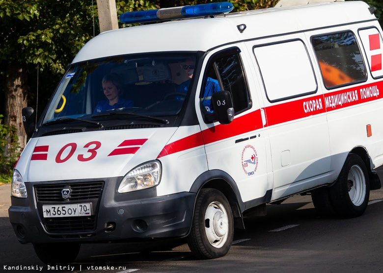Иномарка сбила пенсионерку на Бердской в Томске