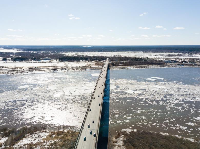 Власти: скопившиеся ледовые массы на Томи «протолкнет» речной тягач